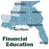 What's Required in Your State? The Role of Personal Financial Education in the Southeast