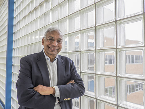 Anil Jain, university distinguished professor at Michigan State's Biometrics Research Group