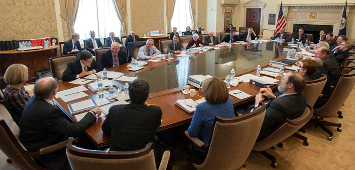 photo of Federal Open Market Committee meeting