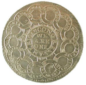 coin that inspired the design of the Fugio cent