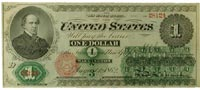 "United States ""legal tender"" note, 1862"
