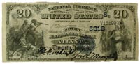 $20 Lowery National Bank of Altanta note