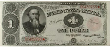 Treasury or coin note
