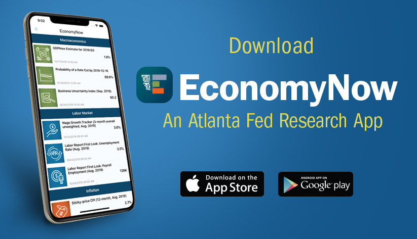 EconomyNow: An Atlanta Fed Research App