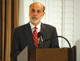 photo of Fed Chair Bernanke