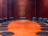 photo of Federal Reserve board room