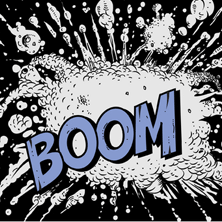 Boom text