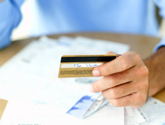 image of credit card and statments