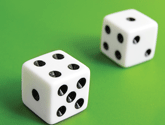 Photo of 2 dice