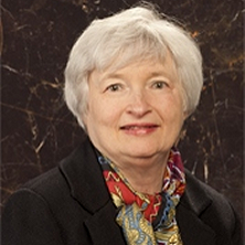 photo of Fed Gov. Janet Yellen