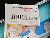 Photo of job market illustration