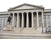 photo of US treasury building