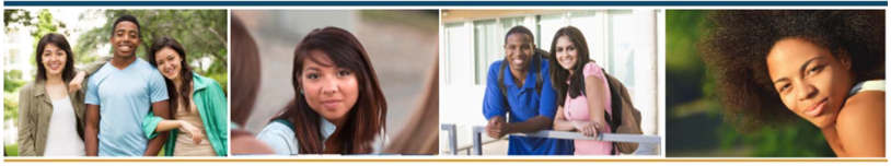 Banner: Four images of young adults for the Creating a More Inclusive Economy: Igniting Systems That Produce Results for Youth Employment