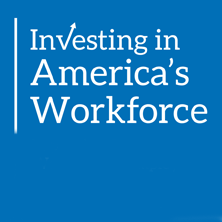 Investing in America's Workforce logo