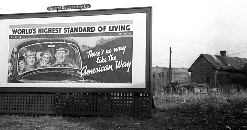 A photo taken in Birmingham during the Great Depression. Photo courtesy of the Library of Congress Photographic Archives