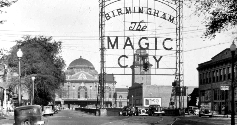 Because of its rapid growth in the early 20th century, Birmingham became known as 'the Magic City.' Courtesy of the Sloss Furnaces National Historic Landmark