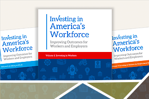 photo of Investing in America's Workforce books