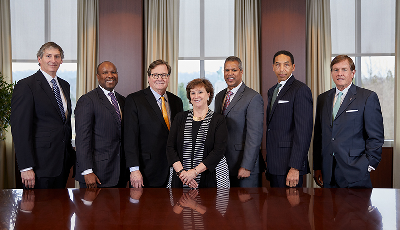 2018 Birmingham Board of Directors: David M. Benck, Brian C. Hamilton, Merrill H. Stewart Jr., Nancy C. Goedecke, David J. Fernandes (as of Jan. 1, 2019), Herschell L. Hamilton, David L. Nast (as of Jan. 1, 2019). Not pictured: Michael Case, Pamela B. Hudson