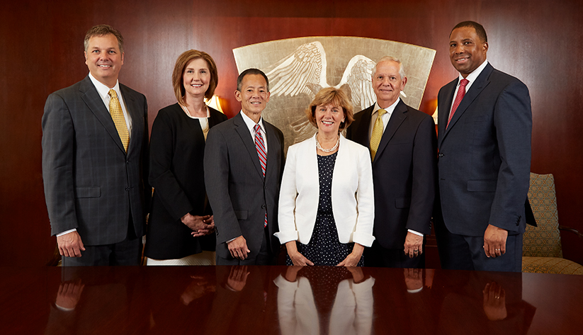 2018 Jacksonville Board of Directors: Paul G. Boynton, Dawn Lockhart, John Hirabayashi, Cynthia A. Bioteau (resigned), William O. West, Troy D. Taylor. Not pictured: Timothy P. Cost, Nicole B. Thomas