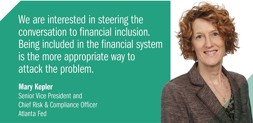 Quote from Mary Kepler, Senior Vice President and Chief Risk & Compliance Officer, Atlanta Fed