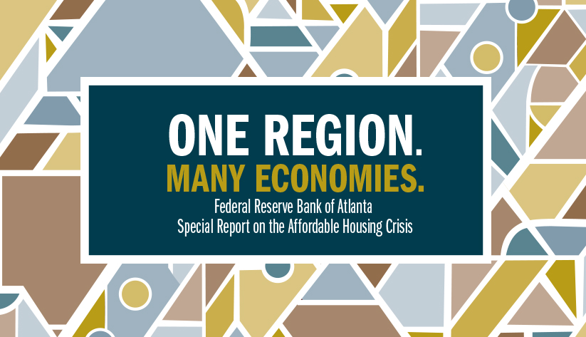 banner for Atlanta Fed's special report on the affordable housing crisis