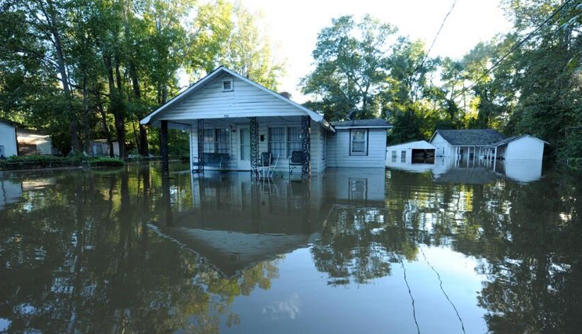 Climate change is a major culprit in more frequent flooding in many parts of the United States. Photo courtesy of the Federal Emergency Management Agency