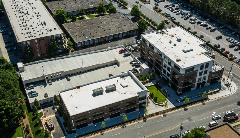 An example of one of MARTA's transit-oriented development. Photo by MARTA