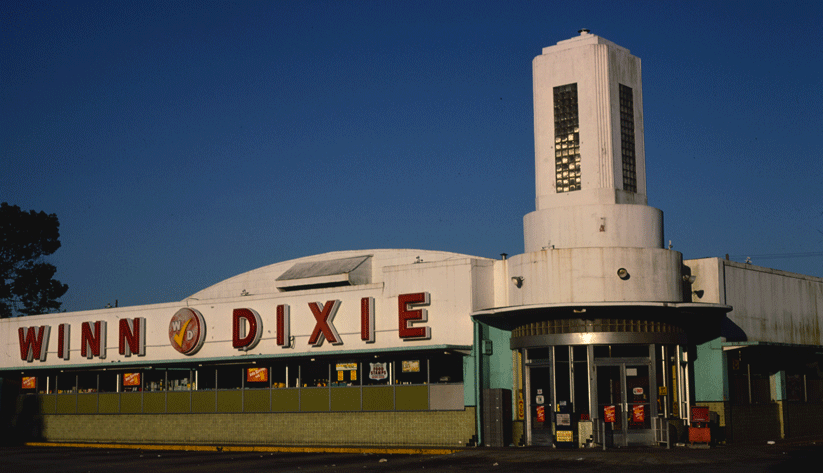A Winn-Dixie supermarket in Jacksonville in 1979. Photo courtesy of the Library of Congress photographic archives