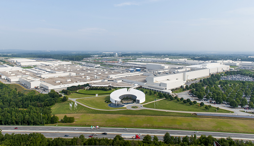 BMW's first U.S. plant near Spartanburg, South Carolina, helped transform the state into a hub of automotive and auto parts manufacturing. The plant represents an example of an incentive deal experts say worked. Image courtesy of BMW Group Plant Spartanburg