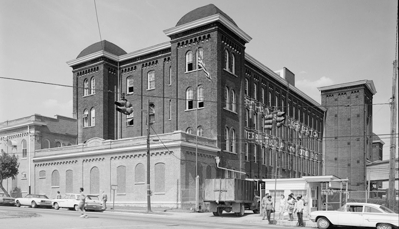 Tennessee Manufacturing Company in Nashville. Photo courtesy of the Library of Congress photographic archives