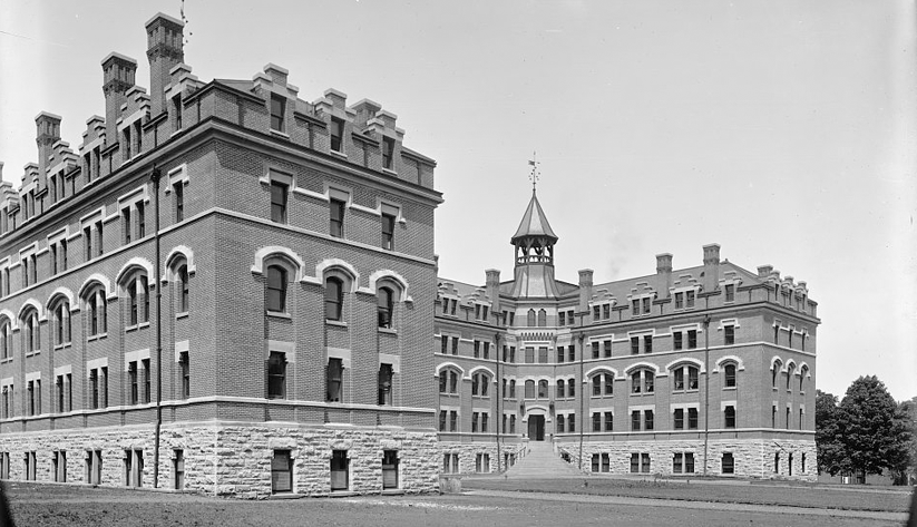 A 1909 photo of Vanderbilt University, one of Nashville's largest employers. Photo courtesy of the Library of Congress photographic archives