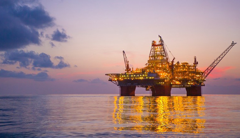 Offshore Gulf of Mexico oil production set records in 2019, most of it from platforms like this one in very deep water more than 100 miles offshore. The pandemic slowdown could crimp that production. Photo courtesy of BP