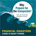preparing for financial disasters infographic