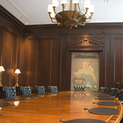 Atlanta Federal Reserve building boardroom