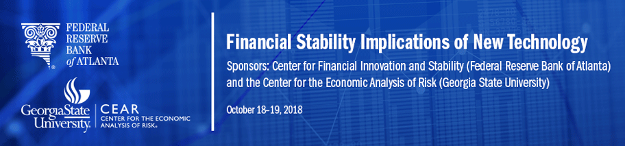 Banner image for Financial Stability Implications of New Technology conference