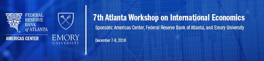Banner image for the 7th Atlanta Workshop on International Economics
