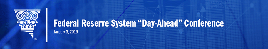 "Banner image for 2019 Federal Reserve System ""Day-Ahead"" Conference"