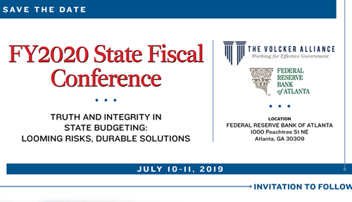 FY2020 State Fiscal Conference