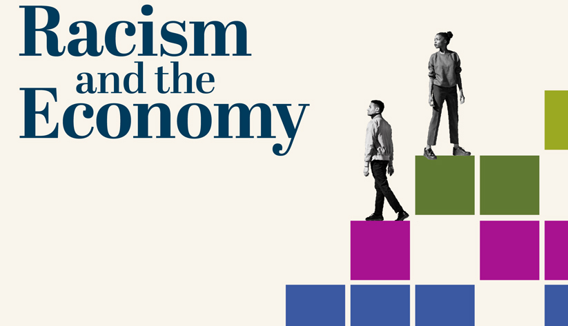 Logo for Racism and the Economy webinar