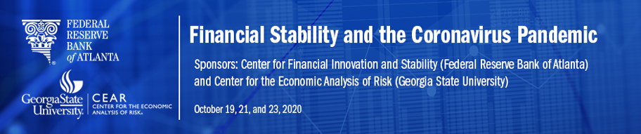 Financial Stability and the Coronavirus banner