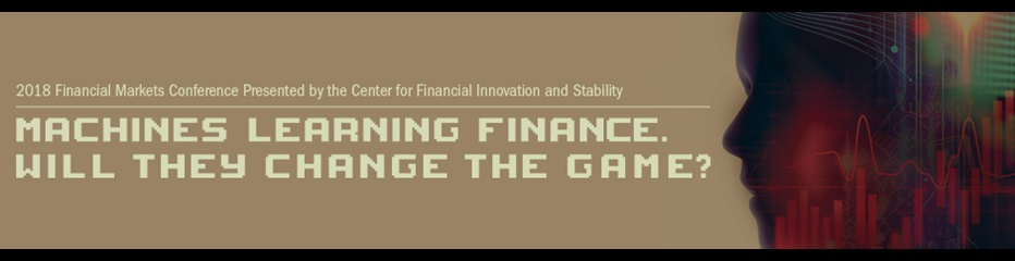 2018 Financial Markets Conference banner