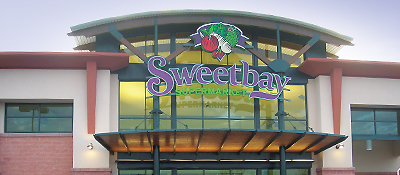 Sweetbay Shopping Plaza sign