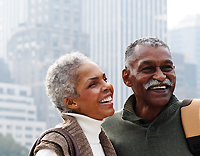 mature African-American couple