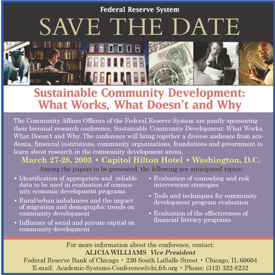 Save the Date Conference Information