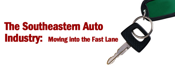 The Southeastern Auto Industry