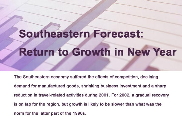 Southeastern Forecast: Return to Growth in New Year
