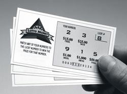 Picture of Lottery Ticket