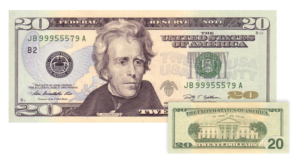 Us Currency Dollars Cents Fundamental Facts About Us Money