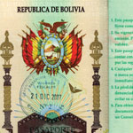 graphic of Republica de Bolivia seal