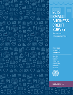 cover of 2015 Small Business Credit Survey report